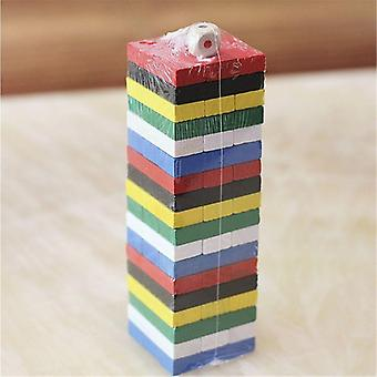 Wooden Stacking Board Games Building Blocks Toy