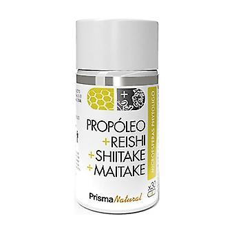 Propolis + Reishi + Shiitake + Maitake Mikrosfärer 30 kapslar