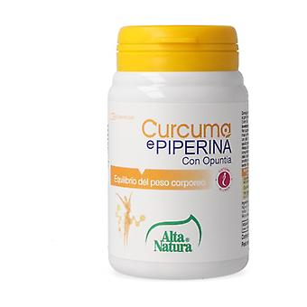 Turmeric And Piperine With Opuntia 45 tablets of 900mg