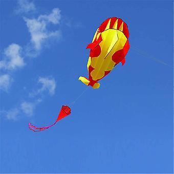 3d 215cm Dolphin Soft Kite Nylon Stoff Kite Linie animierte Drachen Angeln