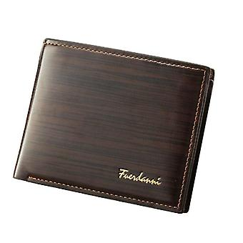 Men's Wallet, Casual, Multi-position, Credit Card Holder, Ultra Thin, Coin
