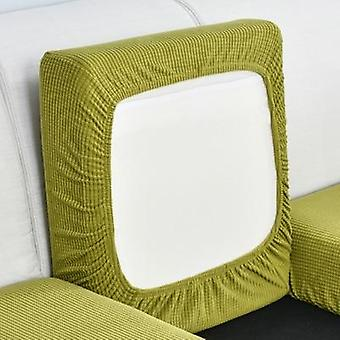 Décoration à la maison Solid Color Sofa Cushion Elastic Protector Cover