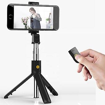 Mini Tripod Handheld Extendable Monopod With Wireless Shutter For Ios Android