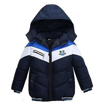 Talvitakki vauvan päällysvaatteille ja takille Lapsille Lämmin hupullinen down-takki