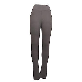 LOGO by Lori Goldstein Leggings Knit Pull-On Taupe Brown A260143