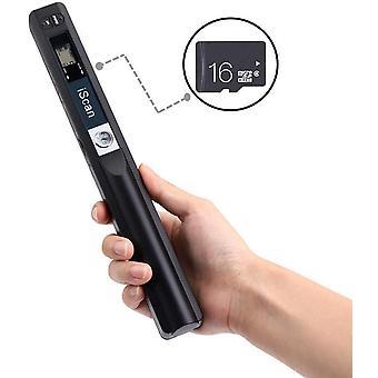 [Handscanner 900DPI ] AuWokexg s/w und Farbe Dokumentenscanner/Portable Scanner/Wireless Tragbarer