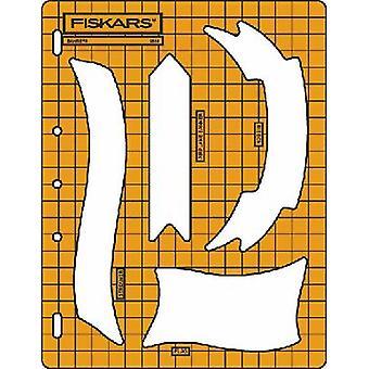 Fiskars Shape Cutter Template - Banners 1