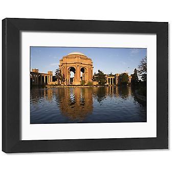 Palace of Fine Arts, San Francisco, California, United States of America, North. Framed Photo..