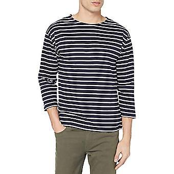 Armor Lux Marini re Beg Meil Homme T-Shirt, Navy/White, XXL Men's