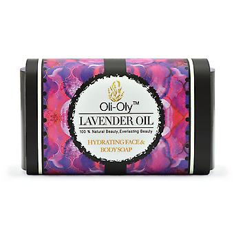 Oli-Oly Hydrating Face & Body Soap with Lavender Oil, 50g