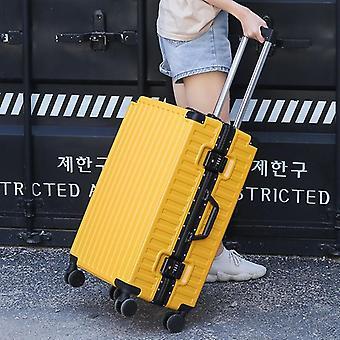 Aluminum Frame+pc Rolling Luggage, Travel Box,suitcase With Wheel