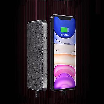 Zmi usb c 18w two-way quick charge pd input output 10000mah fast charging power bank for iphone xs 11pro huawei p30 pro p40 5g mi10 k30 poco awo40998
