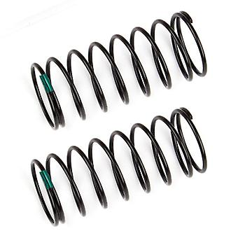 Team Associated Front Shock Sp Rings Green 3.10 Lb/In L44mm AS91830