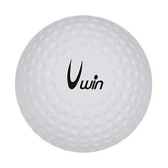 Uwin Dimple Hockey Ball (Einzel) Weiß