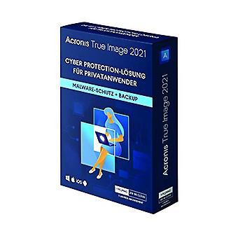 Acronis True Image 2021 | Haladó | 1 DB/Mac személyi kibervédelmi | Integrált biztonsági mentés és víruskereső 250 GB felhőtárhellyel