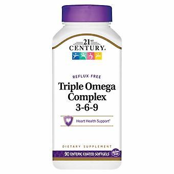 21st Århundre Trippel Omega Complex 3-6-9, 90 Myke geleer