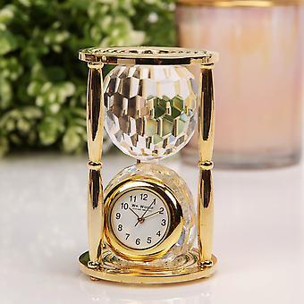 WILLIAM WIDDOP Miniature Glas Ur - Crystal Hour Glas