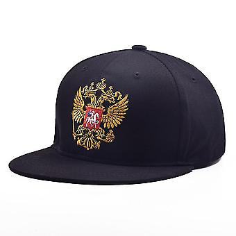 סמל רוסי בייסבול כובע רקמה סנאפבק כובע כותנה
