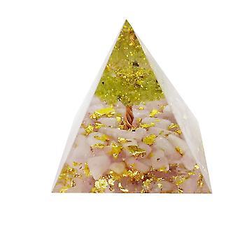 Crystal Pyramid Prism Desk Ornament Glas RESIN Pyramid Mallen voor hars