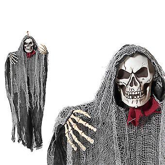 Pingente de esqueleto Halloween (100 cm)