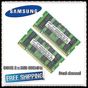 800 МГц Pc2-6400s Ddr 2 2g 4g Ноутбук Память Ноутбук Ram