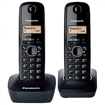 Panasonic Kx-tg1612frh Duo Cordless Phone