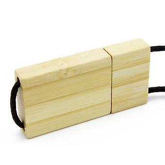 Taljaköysi Puinen USB-muistitikku punainen puu pendrive 64GB bambu MuistiTikku häälahjat ilmainen custom