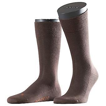 לונדון רגישה גרביים בצבע חום