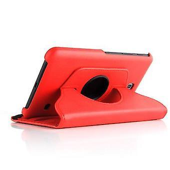 """Fodral för Samsung Galaxy Tab 4 7"""" vikbart tabletthölje - Lock - med stativfunktion - 360 graders fodral"""
