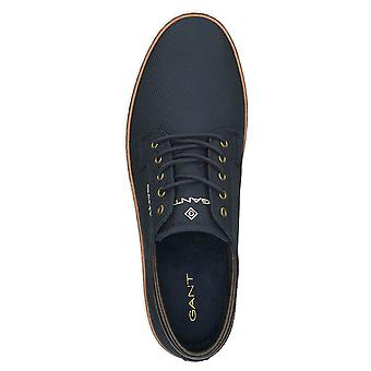 GANT Mens 2021 Prepville Low Lace Casual Leather Cotton Lining Classic Shoes