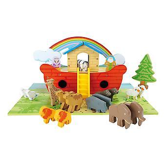 Noah's Ark Wooden Kid's Playset