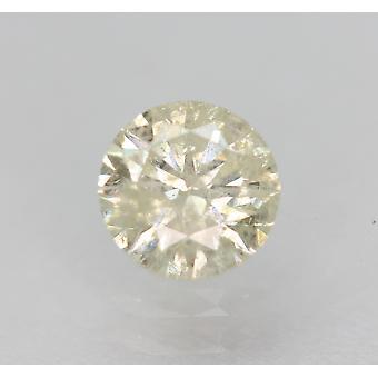 Certificado 0.54 Quilate i SI3 Rodada Brilhante Enhanced Natural Diamond 5.17mm 3VG