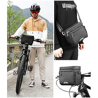 الدراجة المقود حقيبة متعددة الوظائف المياه جبل الدراجة العارضة حقيبة أمامية