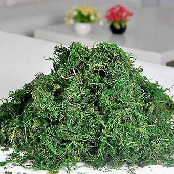 3 Packs artificial  grass moss fake simulation decor green plants faux grass moss lichen garden home patio decor a20
