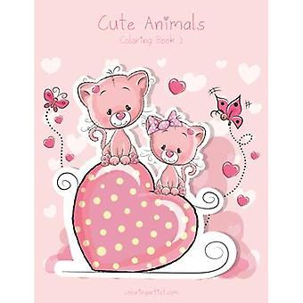 Cute Animals Coloring Book 2 (Cute Animals)