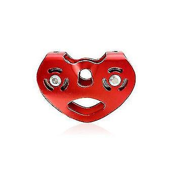 Hammocks quality heart-shape climbing double pulley red  yellow 01