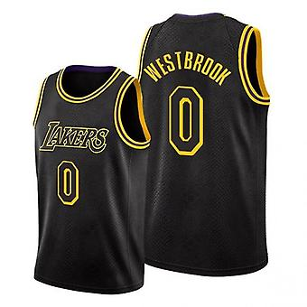 Nba Lakers Russell Westbrook Jersey Basketball Uniform Jersey