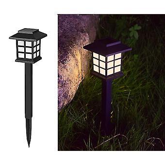 4pcs Solar Lawn Lamp Solar Lawn Lamp Outdoor Waterproof Led Lawn Light Garden Garden Ground Socket Street Light  4pcs  Warm Light