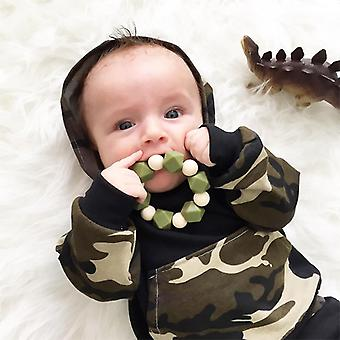 Baby Infant Boy Camo Tracksuit Hooded Hoodie Pants Outfit Set Clothes