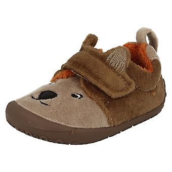 Infant Boys Clarks Slippers Snoozy Paw