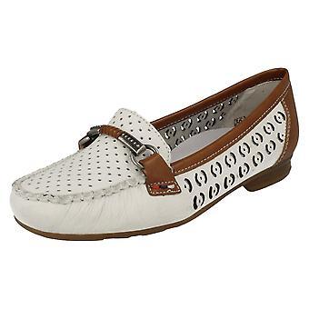 Дамы обуви Rieker плоским случайные бездельник 40085