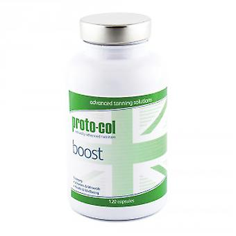 Proto-col Boost - Natural Tanning Formula With Vitamins & Minerals - 120 Capsules