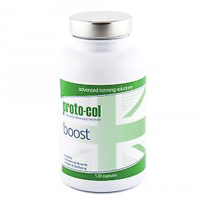 proto-col Boost 120 Capsules - Tanning Supplement With With L-Tyrosine, PABA, Zinc & Copper - Supports Melanin Production - Avoid Exposure To UV Rays