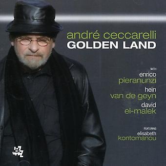 Andre Ceccarelli - Golden Land [CD] USA import