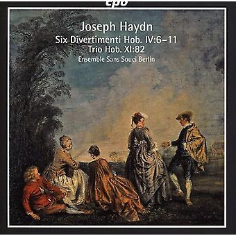 J. Haydn - Haydn: Six Divertimenti [CD] USA import