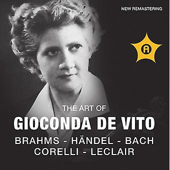 Gioconda De Vito - The Art of Gioconda De Vito Violin [CD] USA import
