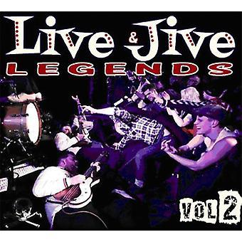 Live & Jive Legends - Vol. 2-Live & Jive Legends [CD] USA import