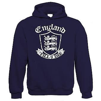 Engeland 'Till I Die Mens Hoodie - Football Rugby Patriotic