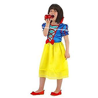 Schneewittchen Kleid Kinder Kostüm Märchenkleid Kinderkostüm