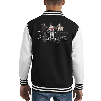 Pre Game Team Talk Walking Dead Inglorious Bastards Kid's Varsity Jacket